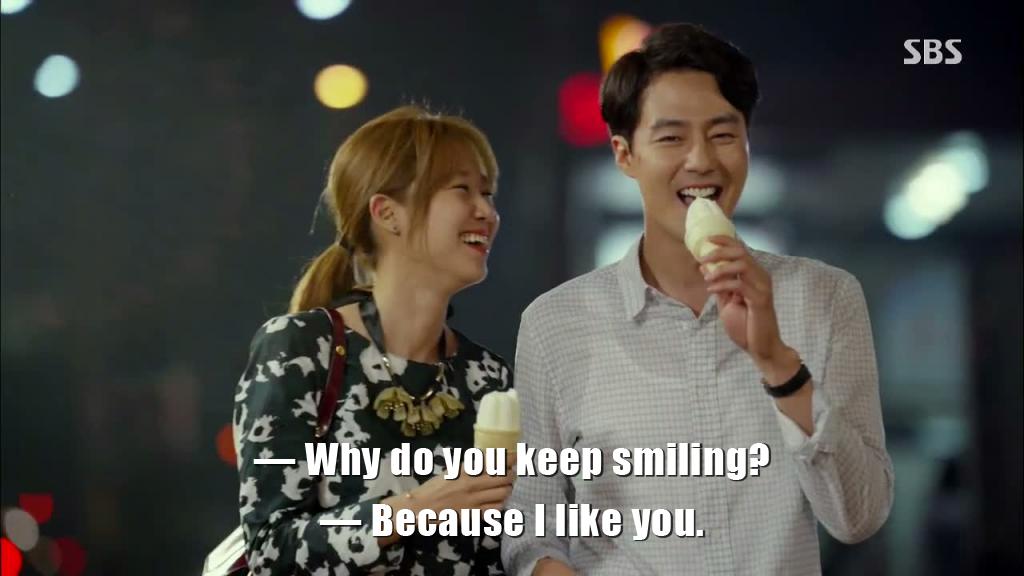 It's okay that's love smile