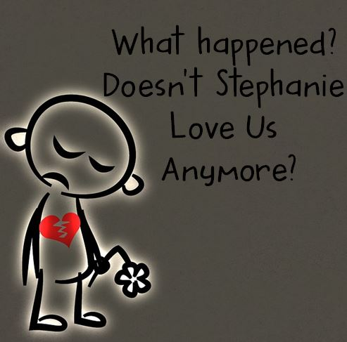 stephanie sad