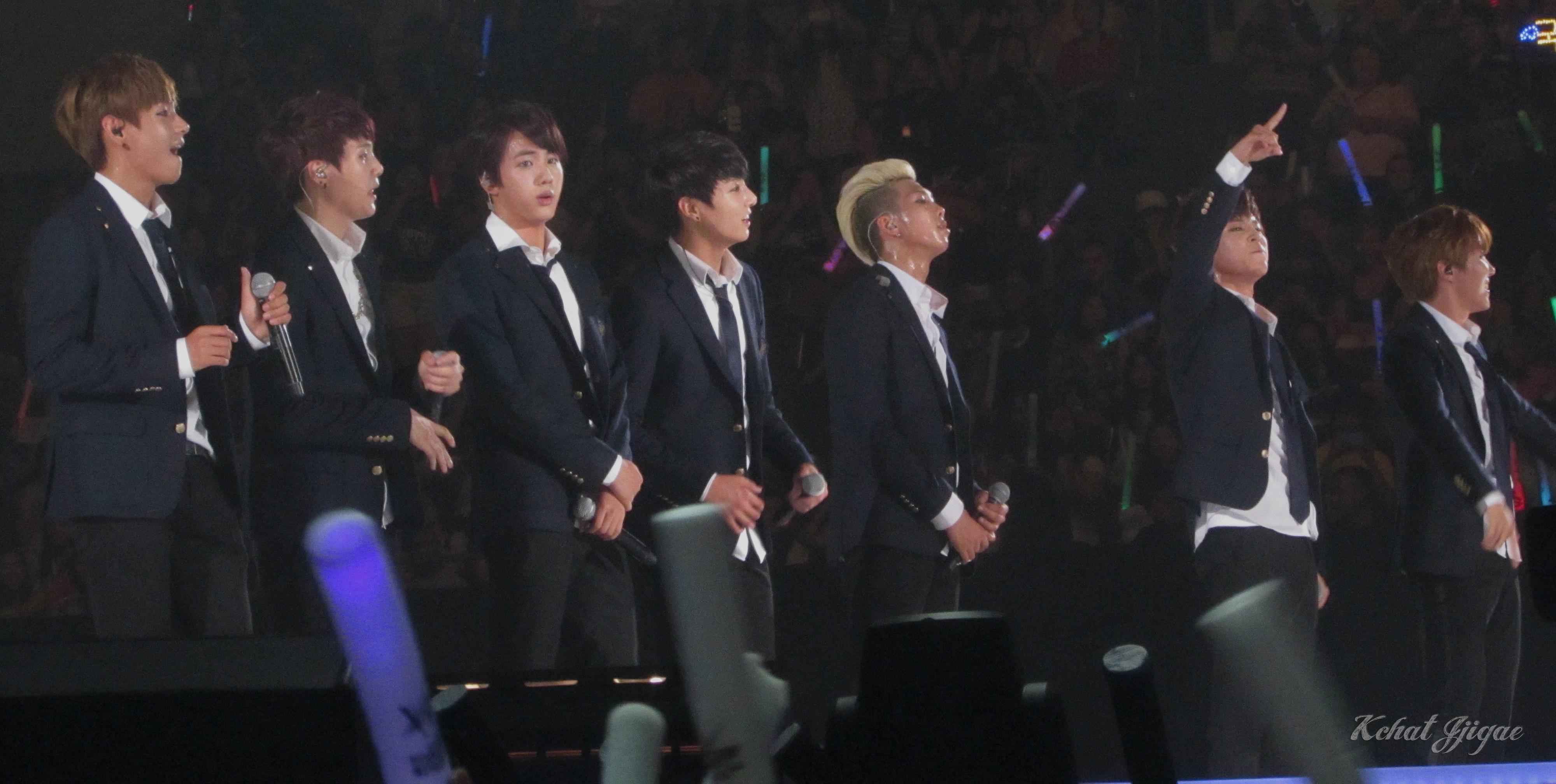 BTS KCON 2014 All 4