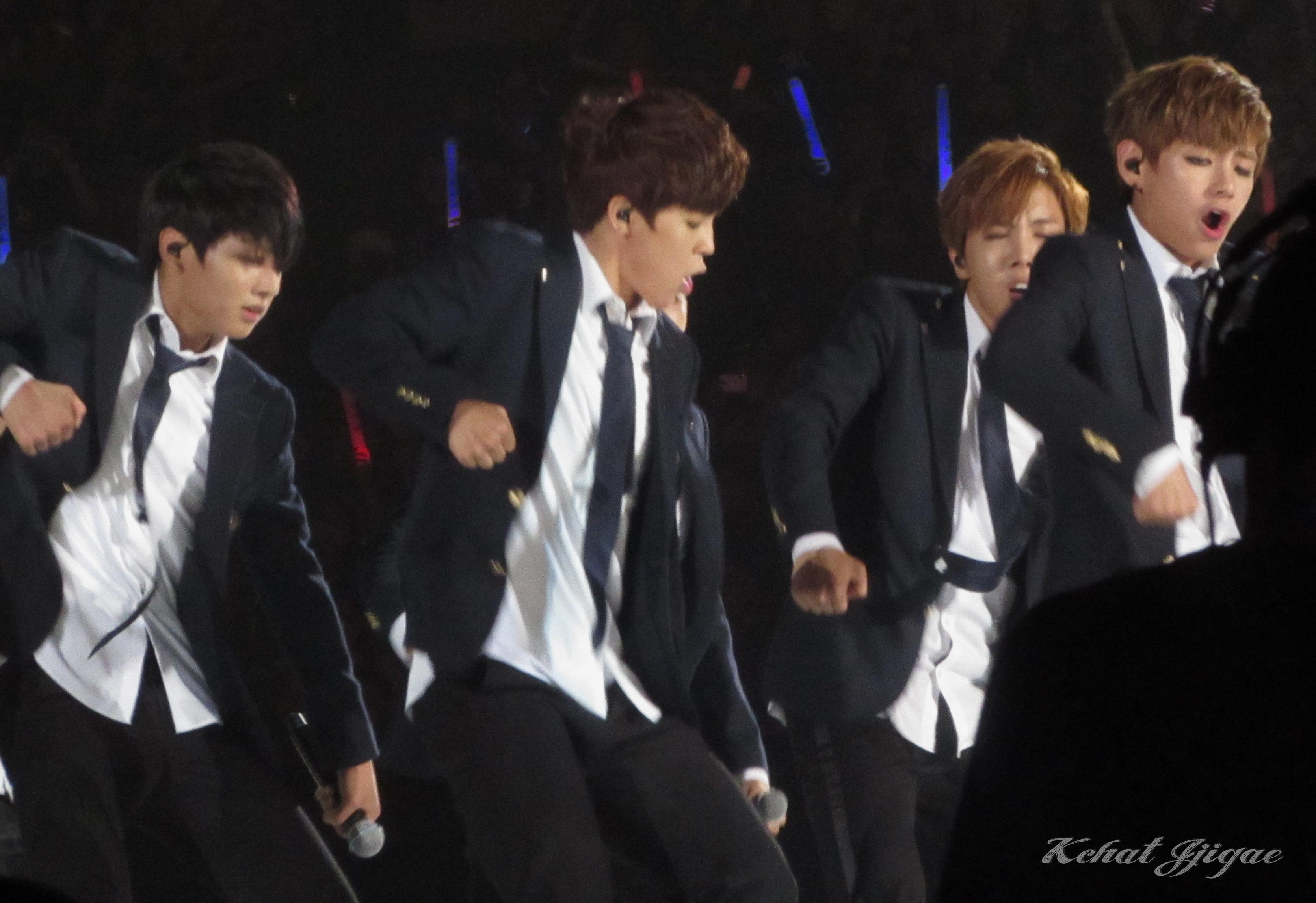 BTS KCON 2014 Jimin Hoseok V Jungkook