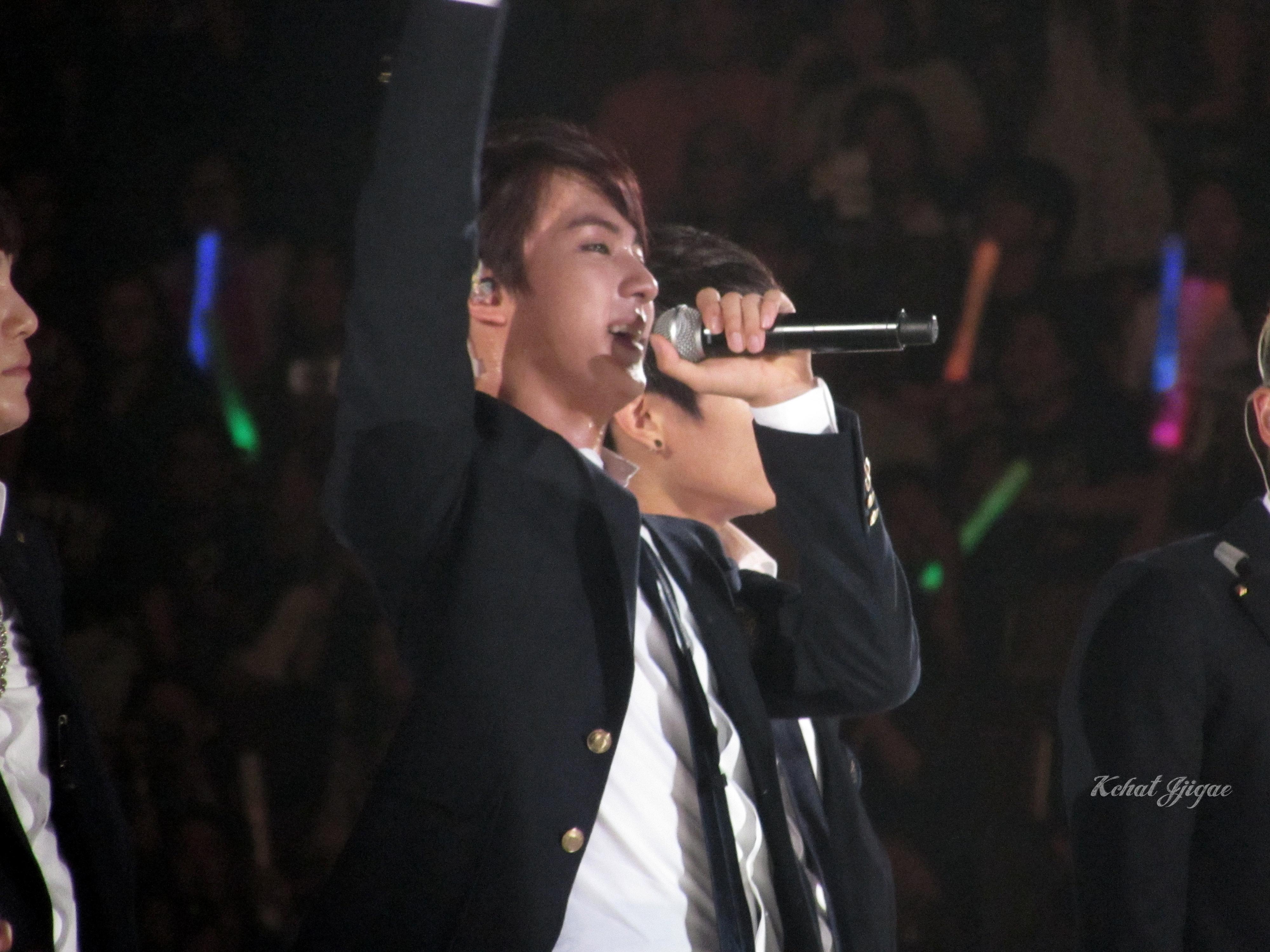 BTS KCON 2014 Jin