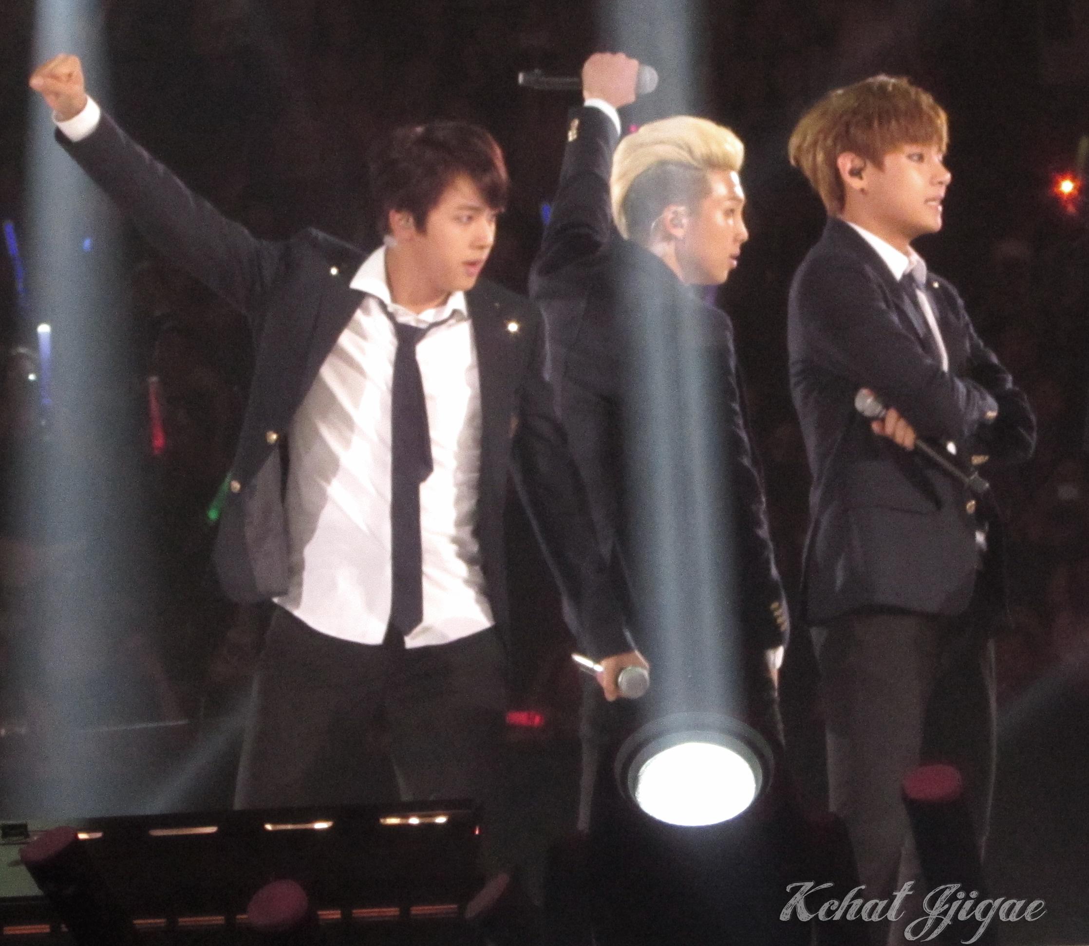 BTS KCON 2014 Rap mon Jin V