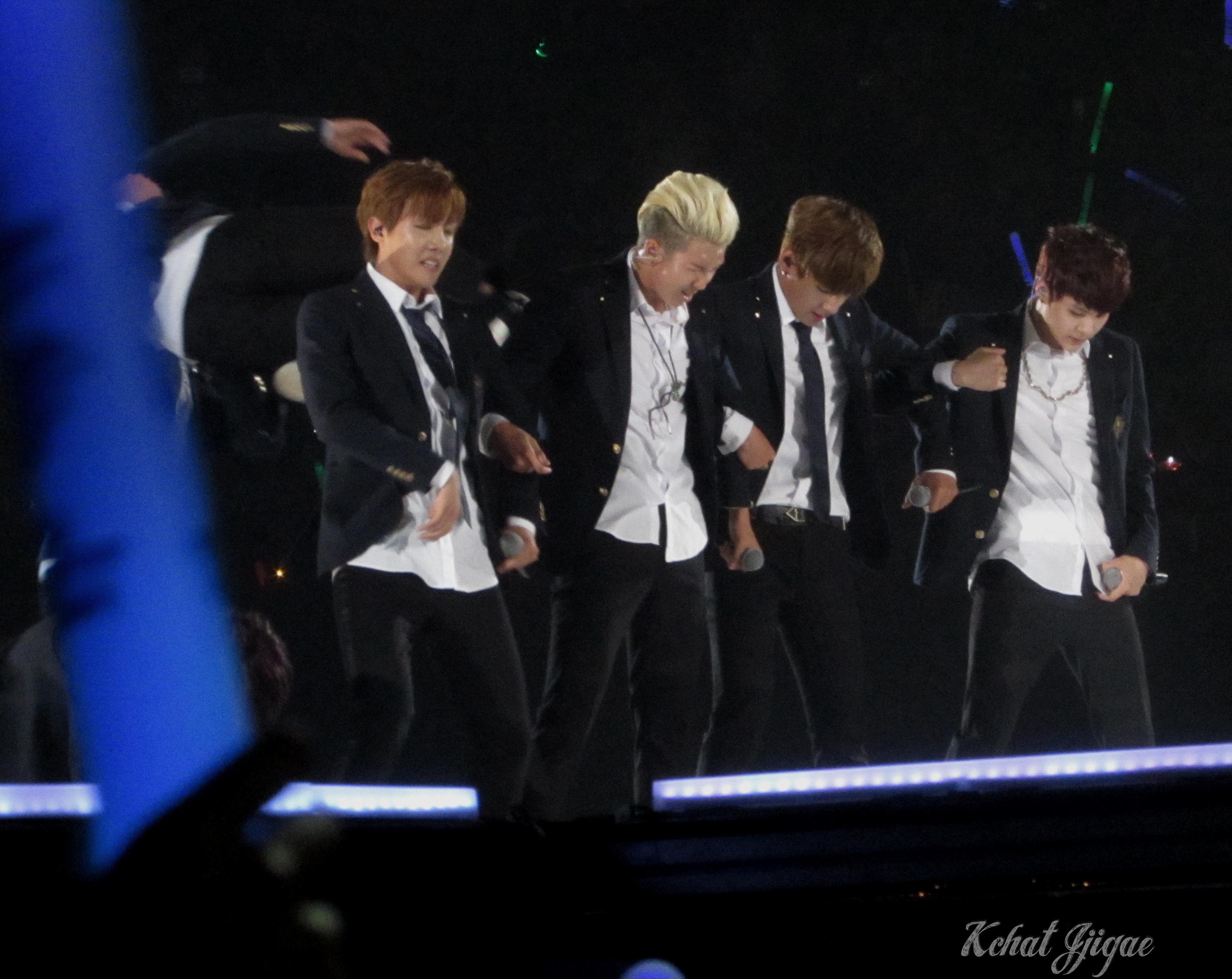 KCON BTS 2014 all