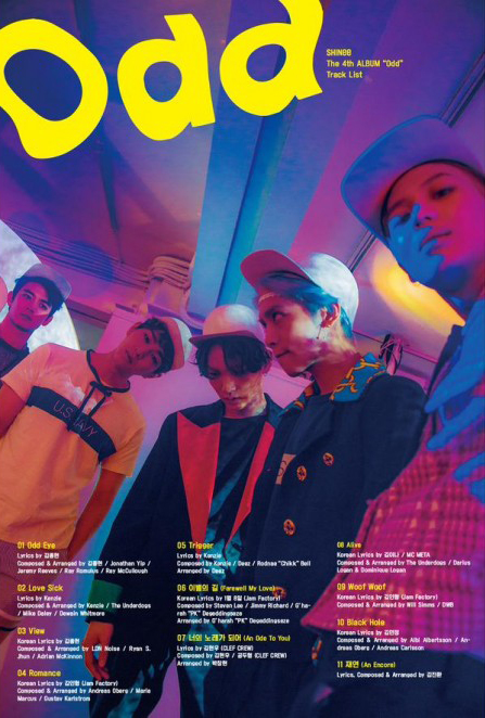 shinee-odd-version-a-poster