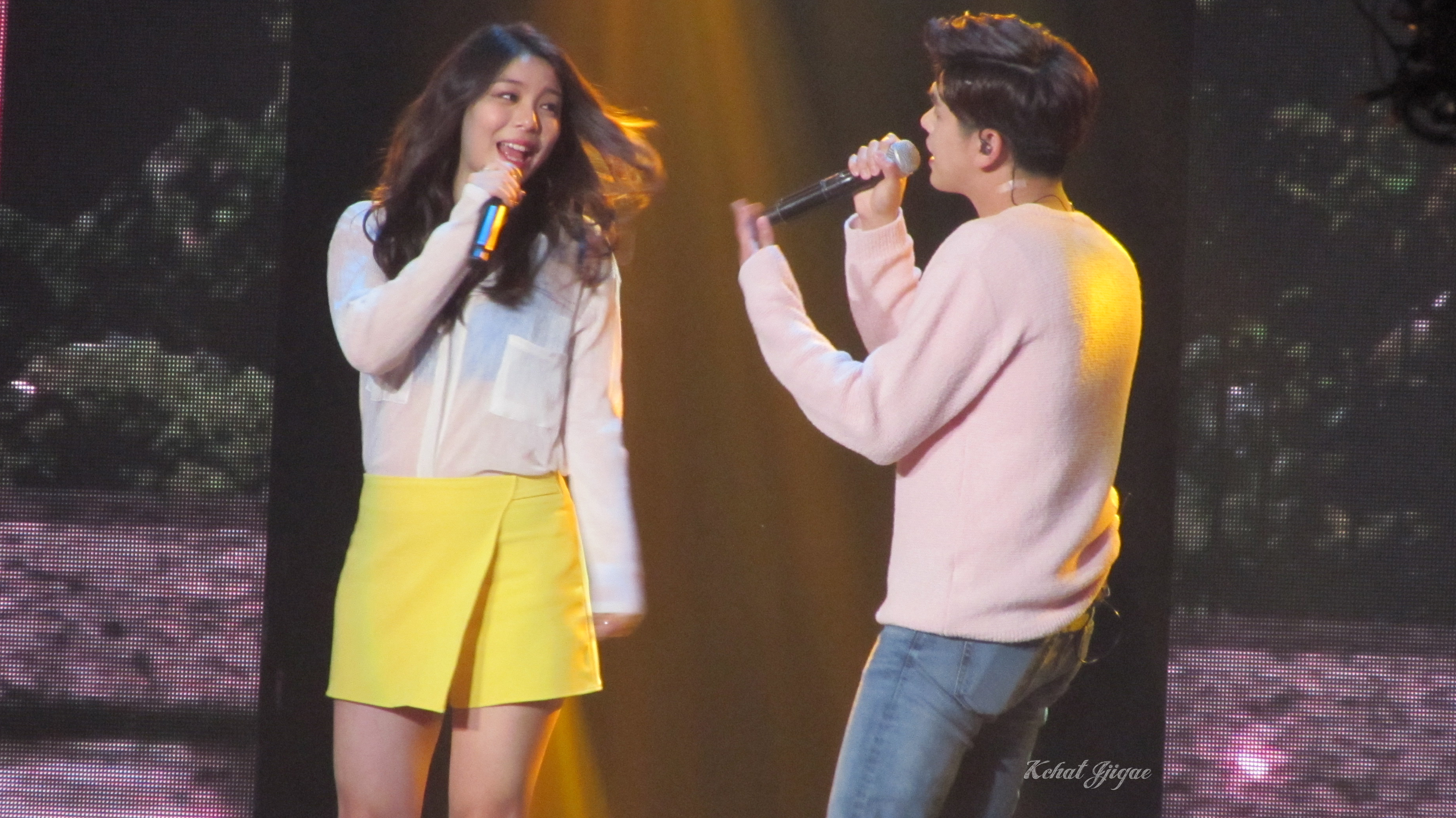 Eric Nam Ailee KCONNY16 2