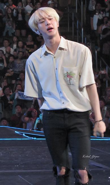 Jin BTS KCON LA 16 6643kcj